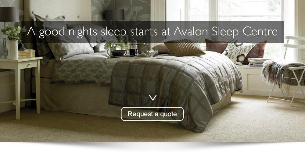 Avalon sleep centre glasgow west end dura beds for Beds glasgow